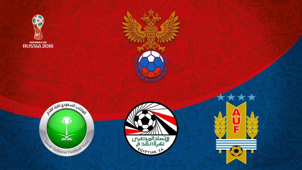 Russia 2018 World Cup Sign Gallery Diagram Writing