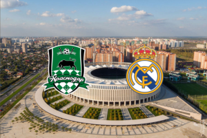 Krasnodar v Real Madrid