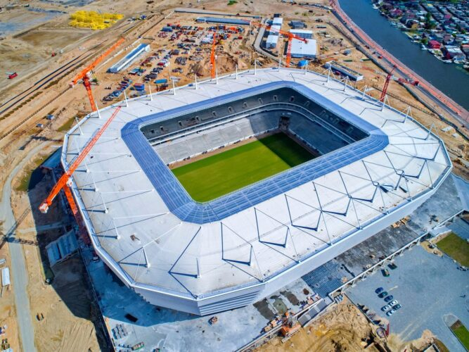 Stadium in Kaliningrad to the 2018 World Cup 81